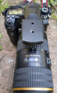Pentax K3 II and Pentax 60-250 mm f/4.0-